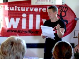 Gäste aus Österreich: Bettina Csoka vom Kulturverein Willy