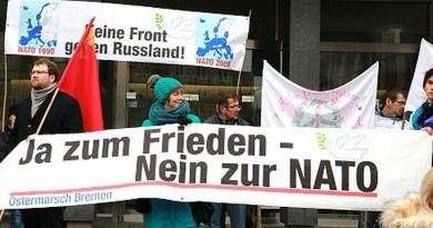 Ostermärsche für den Frieden, und die NATO will mitmarschieren