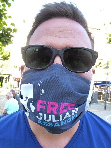 Global Protest Day in Frankfurt
