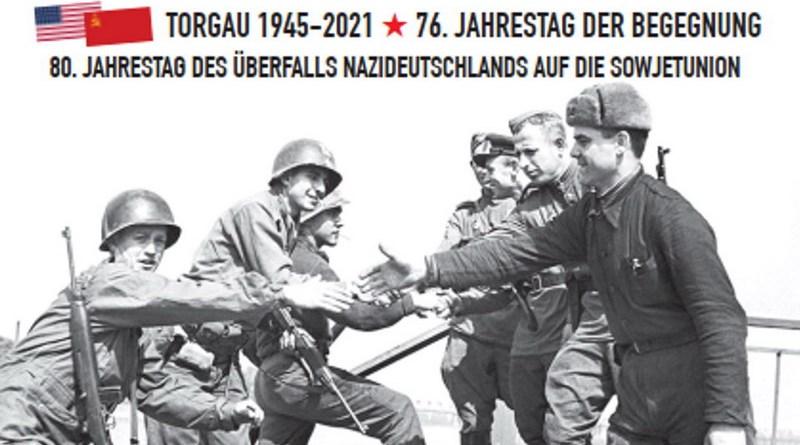 Elbe Tag – Demonstration in Torgau am 24. April 2021