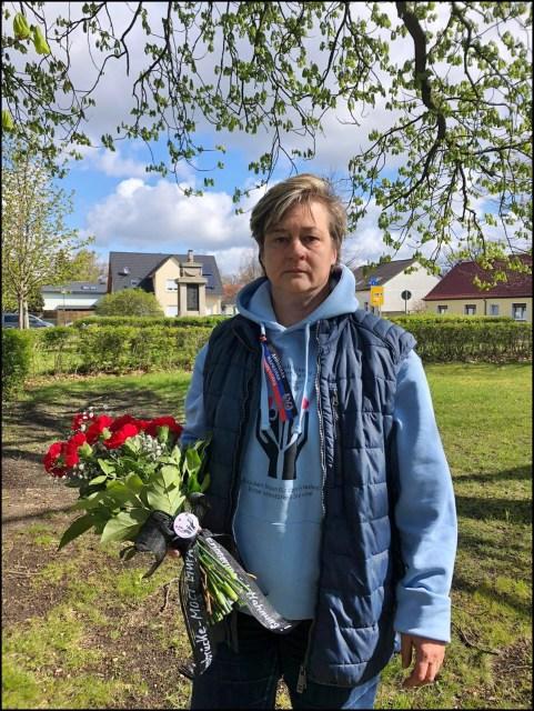 Klosterfelde, 8. Mai 2021: Liane Kilinc