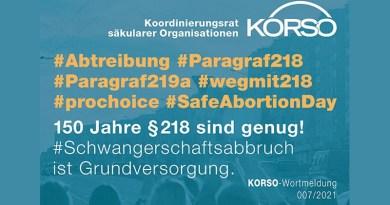 Schwangerschaftsabbruch ist Grundversorgung!
