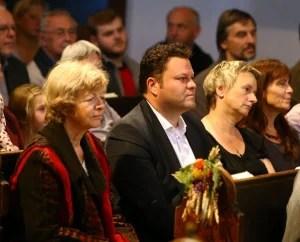 An der Veranstaltung in der Kirche nahm auch Oberbürgermeister Lars Kluge (CDU) teil.