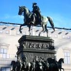 Freimaurer Führung: Reiterstandbild Friedrichs des Großen, CC Andreas Steinhoff über Wikimedia Commons
