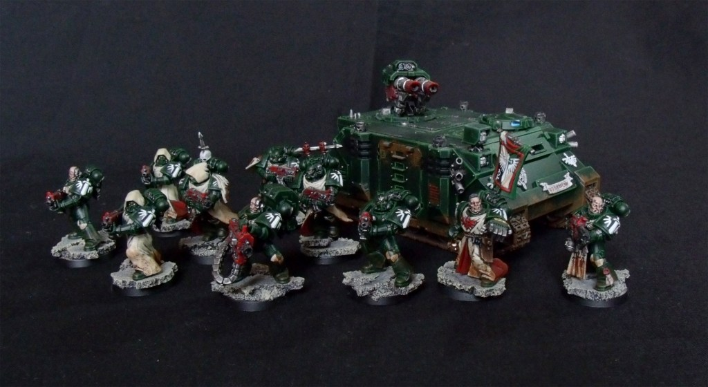 Dark Angels, Taktischer Trupp, Space Marines, Razorback