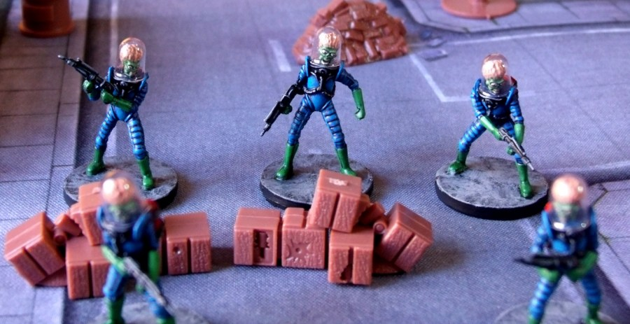 Mars Attacks Miniaturen