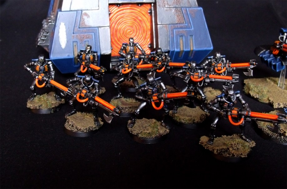 Necron Warriors Monolith 40K