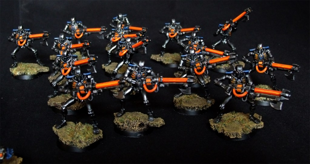 Necron Warriors 40K