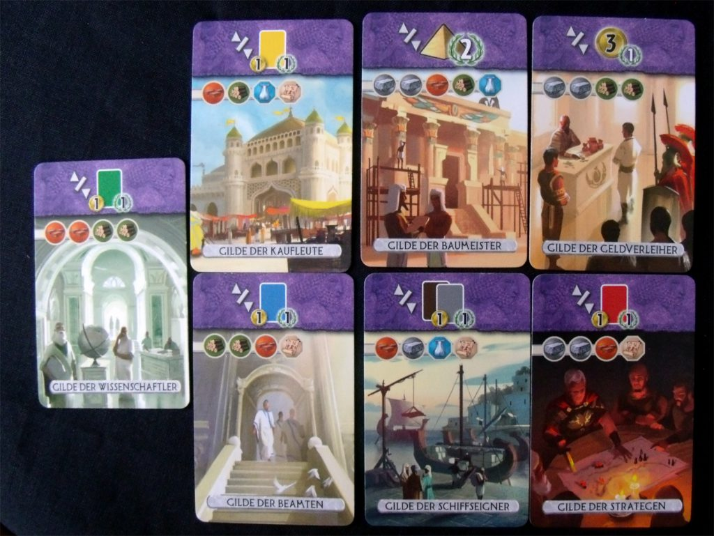 7 Wonders Duel Gilden