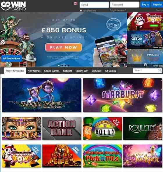 GoWin Casino Gratis Spins & Bonus