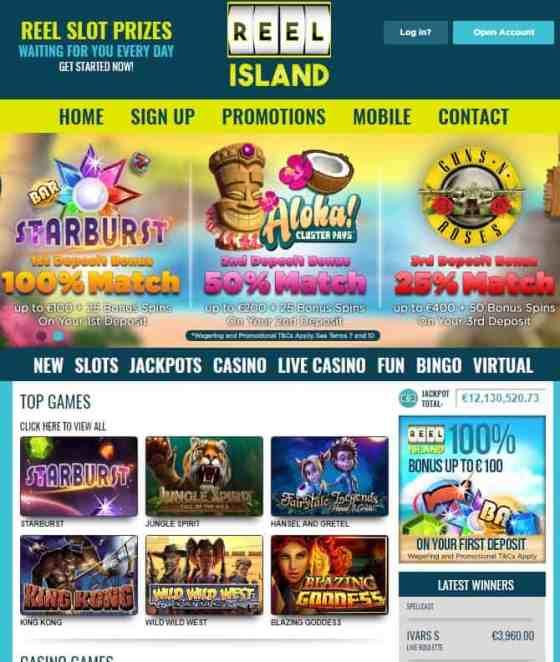 ReelIsland.com Casino Online