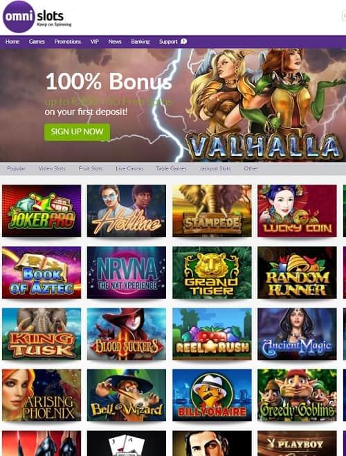 Omni Slots Casino gratis spins