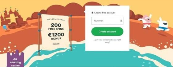 Casumo 20 free spins no deposit bonus
