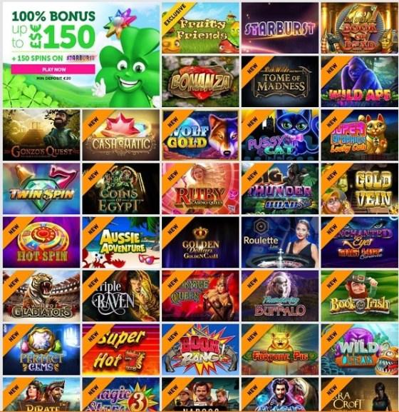 CasinoLuck free spins bonus