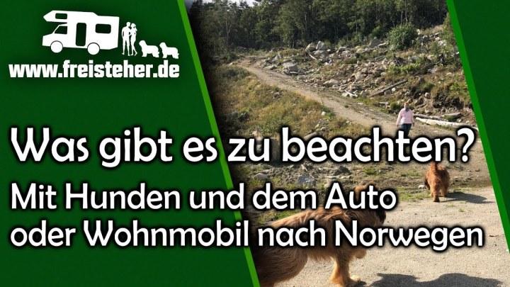 Mit dem Wohnmobil (oder Auto) nach Norwegen: einige Hinweise