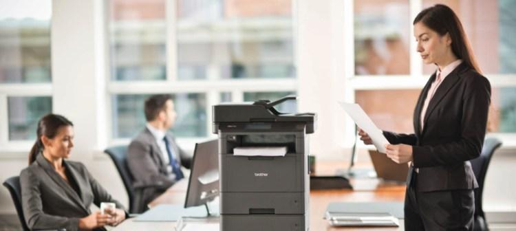 Ein wahrer Alleskönner unter den Druckern: Der Brother L5000 ist Mittelpunkt und Highlight vieler Büros
