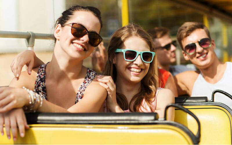 Klassenfahrt Vilnius Busfahrt