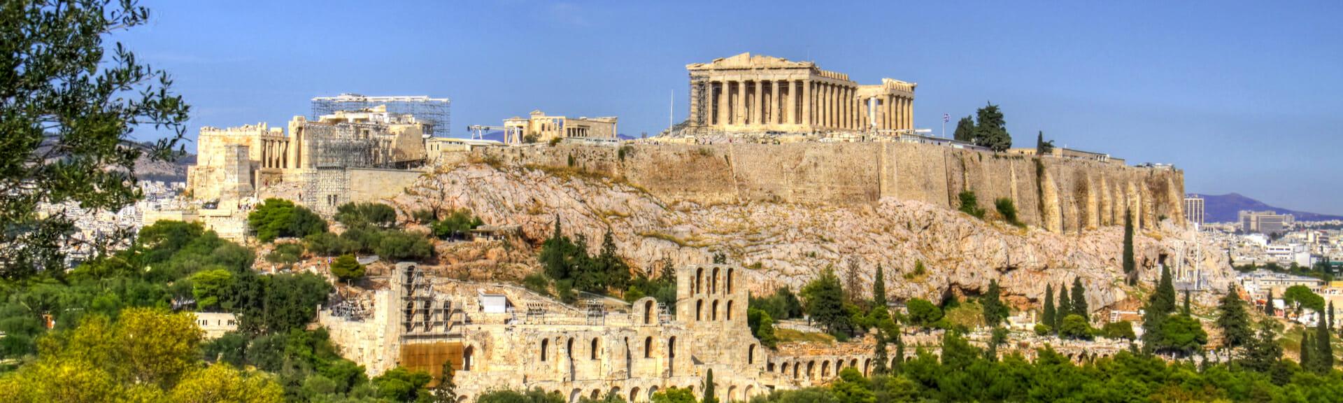 Klassenfahrt Athen Akropolis