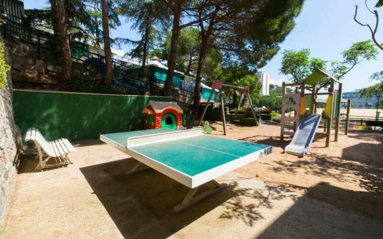 Camping El Far Spielplatz