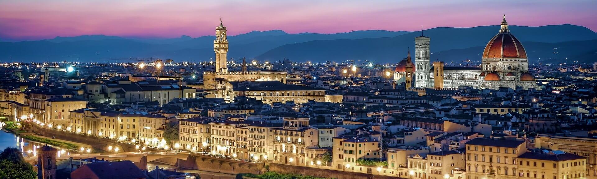 Klassenfahrt Florenz Florenz bei Nacht