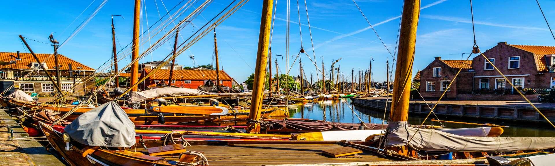 Klassenfahrt Ijsselmeer Segelboote