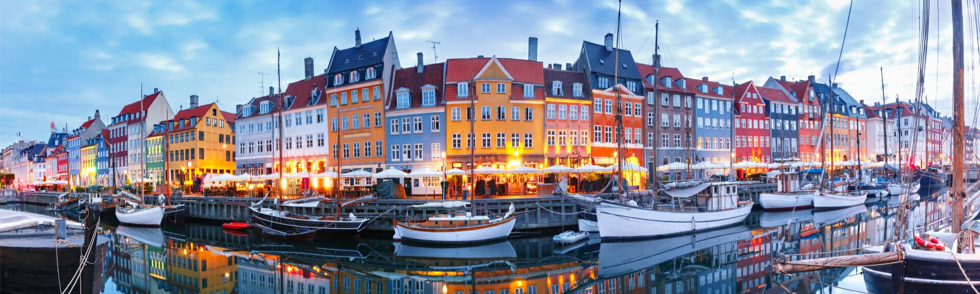 Klassenfahrt Kopenhagen Hafen Nyhavn