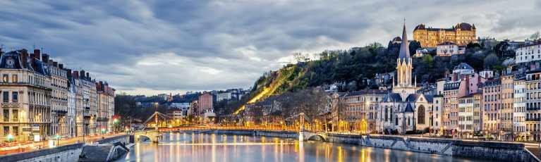 Klassenfahrt Lyon Saône