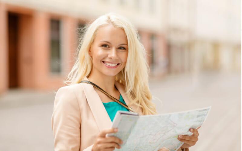 Klassenfahrt Vilnius Litauen Stadtführerin