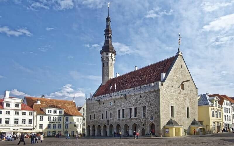 Rathaus Tallinn Fassade