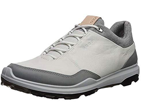 ECCO Herren Mens Biom Hybrid 3 GTX Golfschuhe, Weiß (White/Black 51227), 44 EU