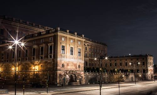 Kungliga Slottet Stockholm Schweden