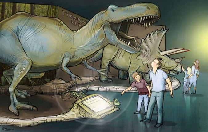 Dino World Ausstellung
