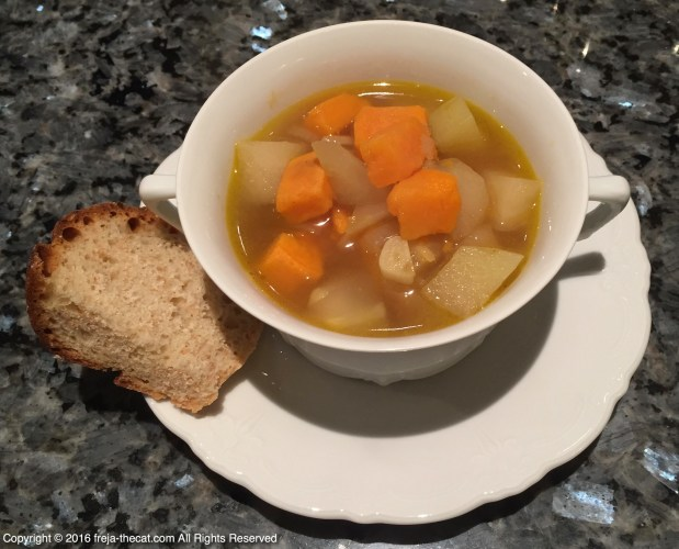 🌱 Sweetpotatoe – Turnip Cabbage Soup