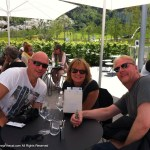 Time for refreshment after the Swarovski museum