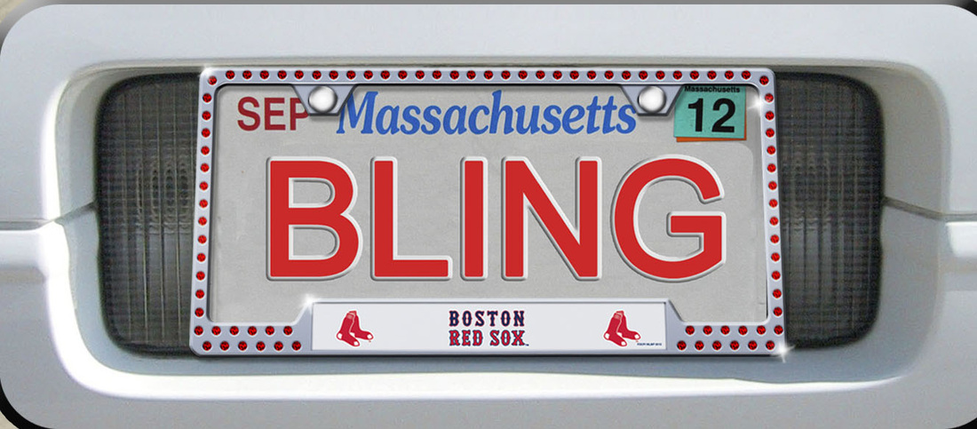 Fancy Red Sox License Plate Frame Ideas - Custom Picture Frame Ideas ...
