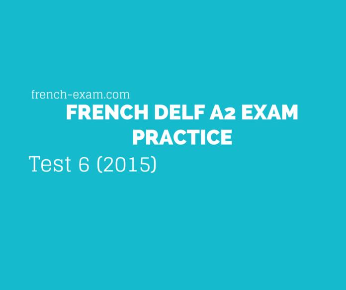 Test 6 (2015)