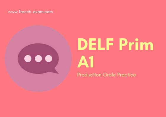 Delf Prim A1 : How to introduce yourself in french (audio example