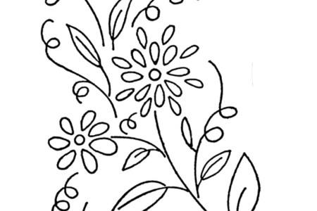 Simple Hand Embroidery Flower Patterns Best Wild Flowers Wild