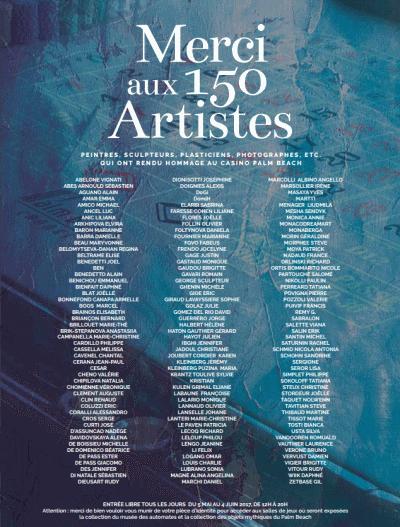 150 artistes
