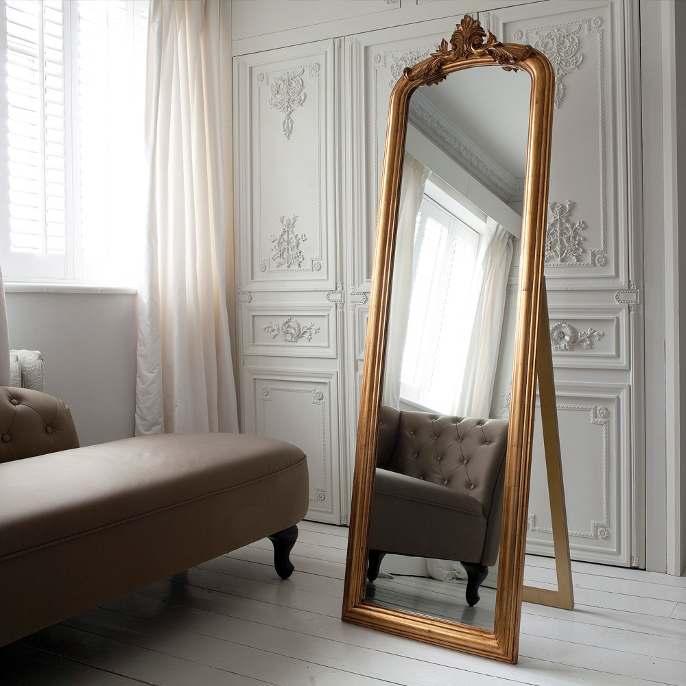 Glorious Gilt Gold French Mirror French Bedroom Company