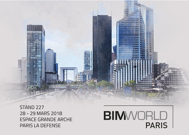 BIM&CO expose au salon BIM World Paris 2018