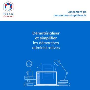 """L'Etat lance """"demarches-simplifiees.fr"""", un service de dématérialisation des procédures administratives."""