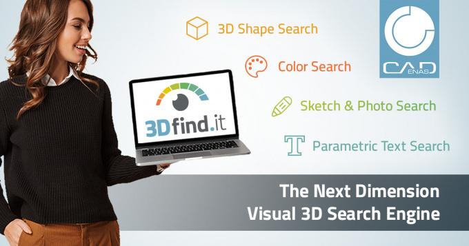 Top départ pour 3Dfind.it, le nouveau moteur de recherche visuel de composants 3D