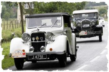 Tour de Normandie - classic car rally