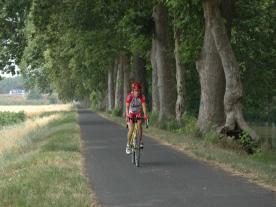 voie verte alongside the Canal du Midi
