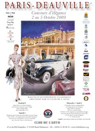 Paris - Deauville Rally poster