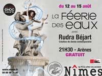 Nimes water festival poster