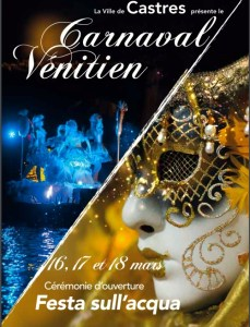 Castres Carnaval poster