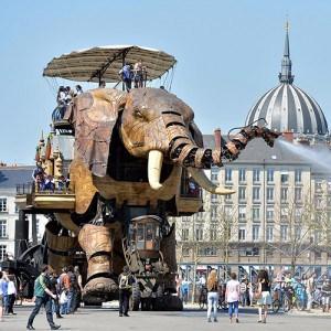 The Elephant at Nantes