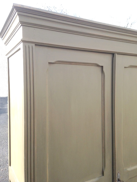 IF3952 ANTIQUE FRENCH LOUIS PHILIPPE STYLE ARMOIRE CUPBOARD